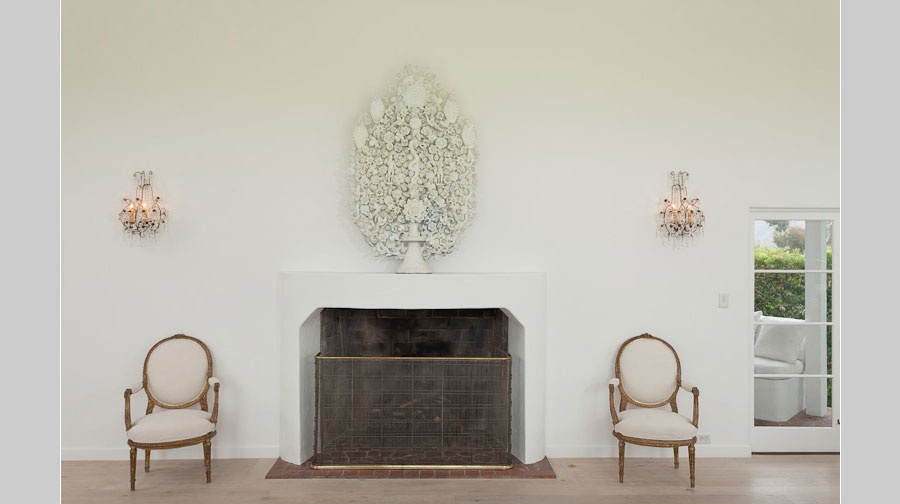 Leterrier Residence Fireplace - renovation by Scott Lander Design