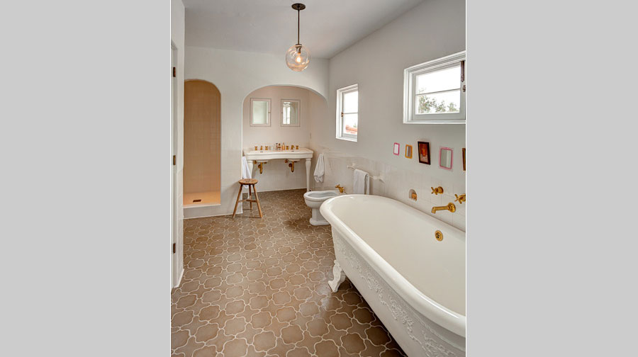 Leterrier Residence Master Bath - renovation by Scott Lander Design